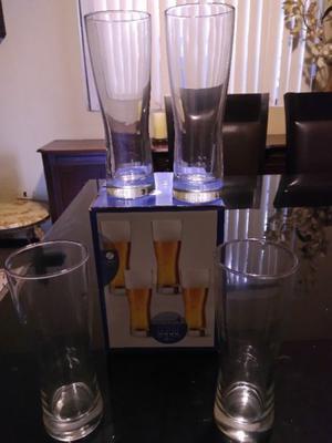Juego de Vasos Cerveceros