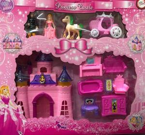 Magico Set Castillo Princesa Luz Sonido Accesorios