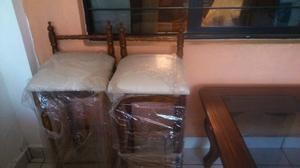 Mesa de centro de parota 2bancos de cueramo