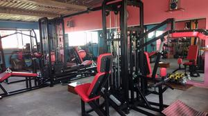 Jaula De Pierna 8 Estaciones Cracken Gym Gimnasio
