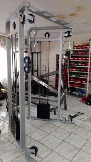 Jaula Jungla Modulo 2 Estaciones Cracken Gym Gimnasio