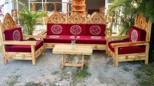 Cojines para salas coloniales o de madera en posot class for Salas coloniales