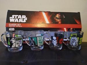 Tazas de vidrio Star Wars