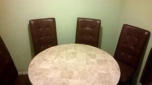 Comedor sillas en piel muebles tlaquepaque posot class for Sillas de comedor de piel