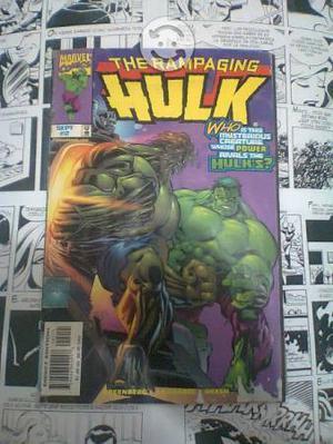 Comic the rampaging hulk #2 marvel comics