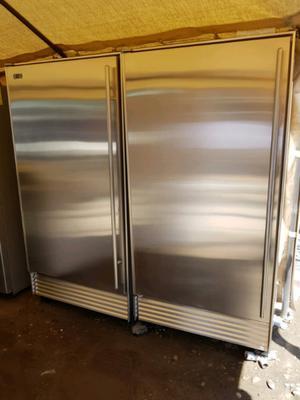 """Refrigerador y congelador sub zero 36"""""""
