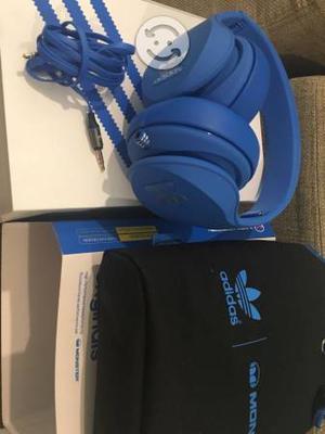 Audífonos Adidas monster nuevos caja accesorios