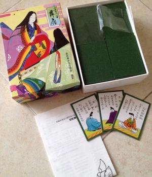 Colección de poemas japoneses en tarjetas (Japón)