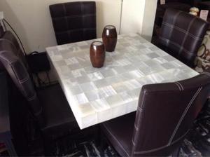 Comedor onix con 4 sillas (envios nacionales)