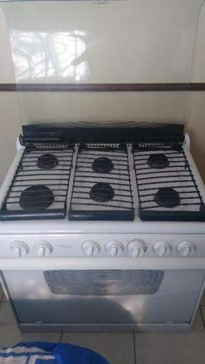 Estufa Whirlpool 6 quemadores