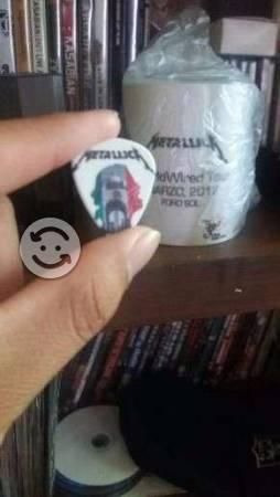 Plumilla de Metallica