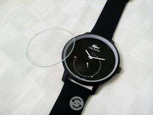 Reloj de cuarzo con detalle
