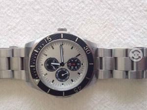 Reloj nautica para caballero de acero