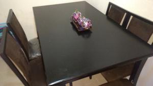 Comedor de madera 6 sillas negociable