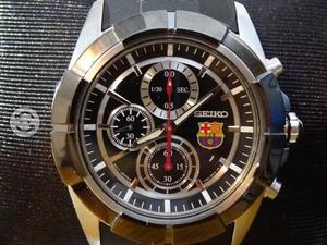 Reloj seiko barcelona,nuevo,cronografo,originl,imp