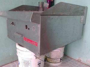 plancha industrial cocina sin usar