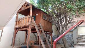 Casita de madera para niños Play Club