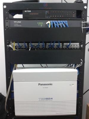 Conmutadores Panasonic, Reparación y Programación