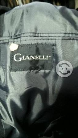 Gianelli Traje Color Gris Oxford Para Caballero