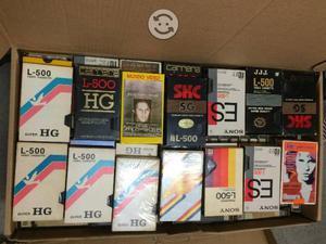 Lote de cassettes