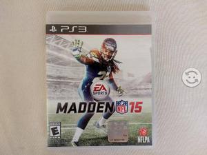 Madden 15 de PS3 a buen precio