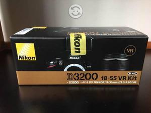 Cámara profesional Nikon d nueva