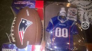 Mini balon wilson NFL patriotas