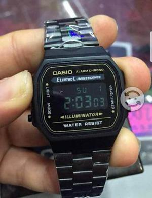 Reloj vintage casio color negro matte el vendido