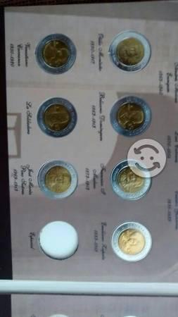 Colección de Monedas de $5 del Centenario y Bic