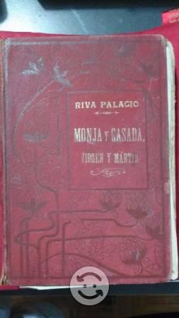 Libro Antiguo Monja y Casada Virgen y Martir