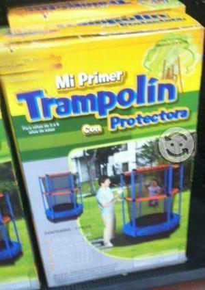 Trampolin mini p/niños nuevo en su caja