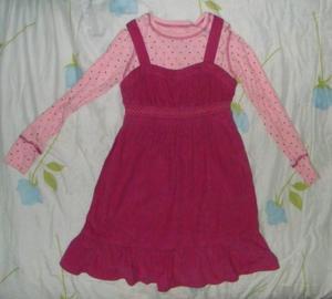 paq ropa invierno para niña talla 8