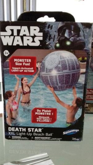 star wars estrella de la muerte con luz