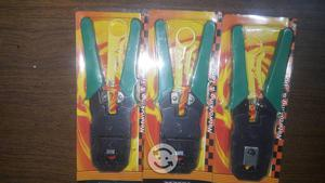 Pinzas ponchadoras de cable de red