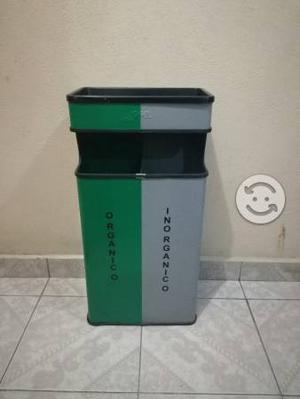 Botes de basura organico/inorganico marca jofel