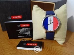 Reloj timex nuevo,correa resina,luz indiglo,wr30m,