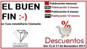 VENTA DE ESPACIOS PUBLICITARIOS EN REVISTA GI DIAMANTE
