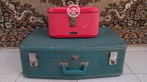 Veliz maleta antigua neceser clasico retro vintage