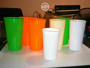 Venta de vasos de plástico