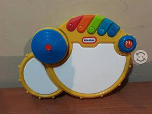 Batería Musical Pop Tunes Drum Little Tikes