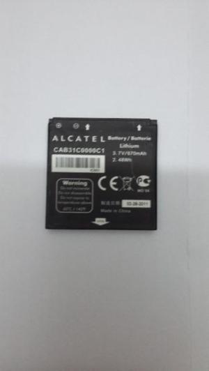 Bateria Alcatel Nueva y Original Modelo: CAB31CC1 Para