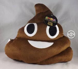 Cojín Emoji Poop | Almohada Emoji Poo | Premium Q