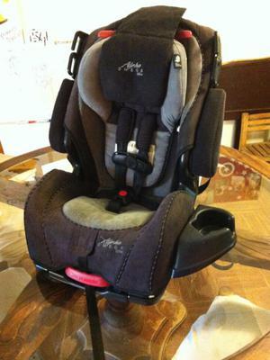 Silla de auto para bebé alpha omega 3 en 1