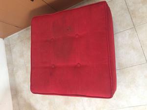 Taburete rojo