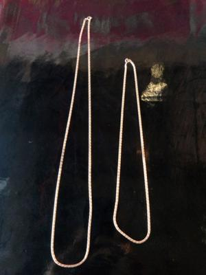 Cadenas de chapa de oro de 10k de buena calidad