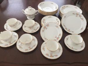 Vajilla porcelana japonesa mikasa 8 personas posot class for Vajilla porcelana