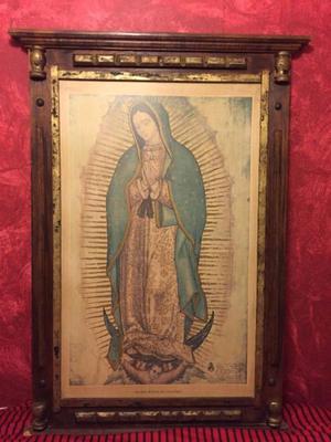Litografía () de la Virgen de Guadalupe