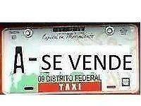 VENTA DE PLACAS DE TAXI DF YA CON REEMPLACAMIENTO $ A