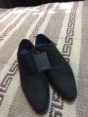 Zapatos de gamusa marca ZARA nuevos Originales
