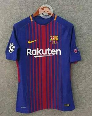 Jersey Barcelona Local  Champions Messi